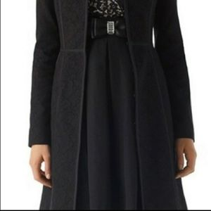WHBM Lace Topper Coat